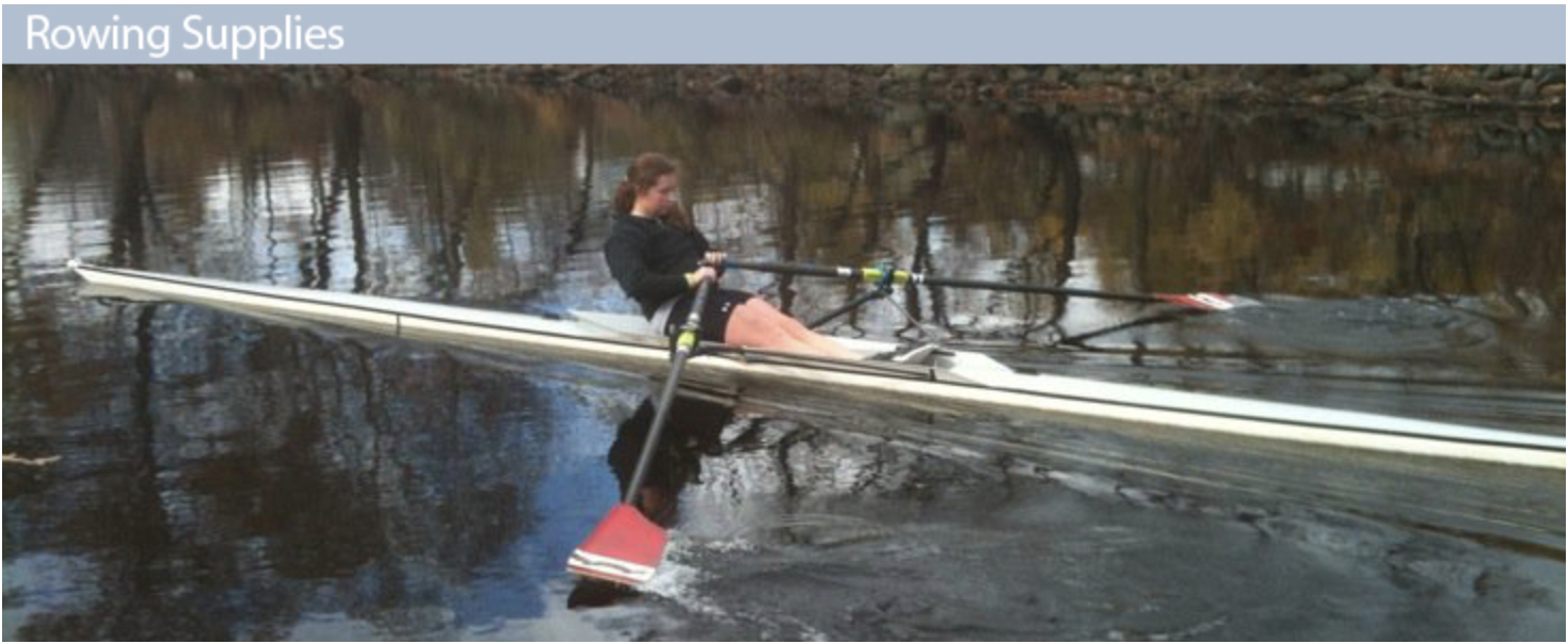 Rowing supplies available online!